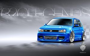 Nitto 1320 Legends 2004 VW R32 by Signalxb