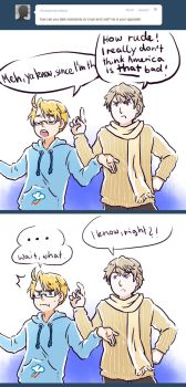 APH: Ask RusAme - but he's so cruel and cold! by PunPuniChu