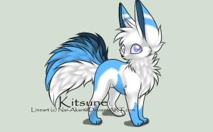Kitsune Adoptable #1 - NAME YOUR PRICE by Kurai-Uma-Adoptables