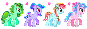 Ponys Auction III Adoptables CLOSED by YukiMiyasawa