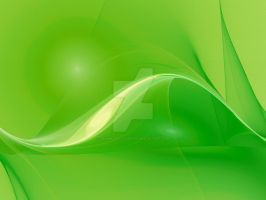 Cool green curves by laxmikantchaware