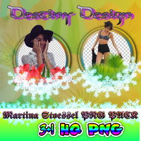 PNG PACK Martina Stoessel 3+1HQ PNG by DestinyDesign0626