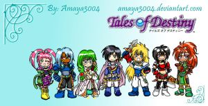 Tales of Destiny Gang by AmayaMarieSuta
