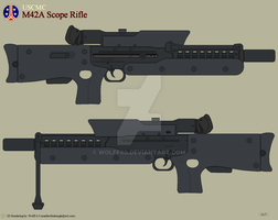 USCMC M42A Scope Rifle by Wolff60
