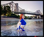 Kasumi: City lake by MoonFoxUltima