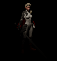 Claymore!Elsa WIP lighting test by 3dLux