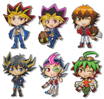 YGO chibis by SpazztasticFanGirl