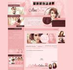 Lily Collins Online by heart4design
