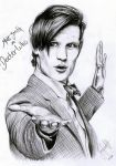 Doctor Who Matt Smith by Mizz-Depp