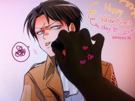 Happy Valentine's Day Levi... by moonu17
