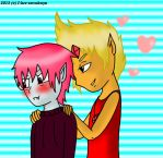 CandlelightxMintz- Blush for me by I-Luv-Emoboys