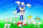Sonic and Sketchhogs. by Baitong9194