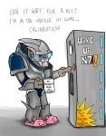 Garrus in the morning by Elminus