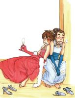 commish - Zuko n Sokka's prom by Go-Devil-Dante