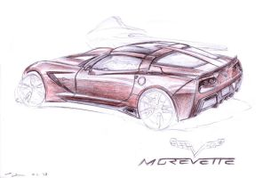 Morevette C7 Stingray by grote-design