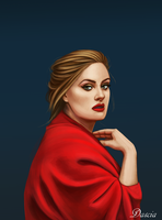 Adele by Manuzan