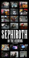 Sephiroth on the Weekends by zizzy
