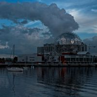 Quantum Cloud Plume in Vancouver by BruceBachand