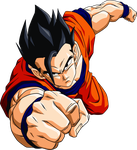 Dragon Ball Z - Son Gohan by gaston-gaston