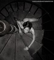 Spiral Stairs by Allie-woo