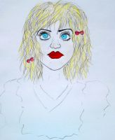Courtney Love by Griffingirl