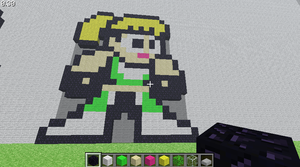 minecraft sonya by pein078