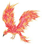 Tribal Phoenix by Dessins-Fantastiques