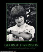 George Harrison by WilburRobinsonsGirl