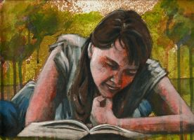 Book Worm by Life-takers-crayons