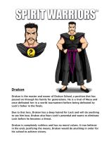 Drakon's Character Biography by SpiritWarriors