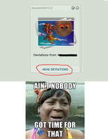 Aint Nobody Got Time Fo Dat Deviantwatch Meme by CHL99