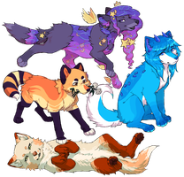 finished ychs!! by sleepies