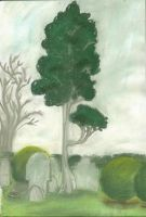Graveyard Tree by clare13