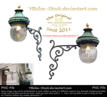 Victorian Lamp PNG by YBsilon-Stock