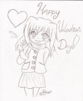 Happy Valentines Day 2012 by HirokoTheHedgehog