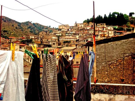 Clothesline by Domenica23