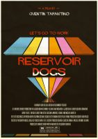 Reservoir Dogs Variant Poster by W0op-W0op