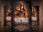 Nightmare on the Street Halloween Flyer by Grandelelo
