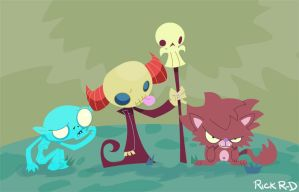 My lil creeps by rickrd