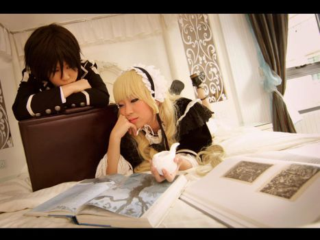 Gosick : By her side by HapiFello