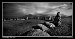 The CastleRigg Stone Circle by Andrew-and-Seven