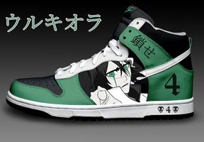 Ulquiorra Custom Nike Dunks by Azrael-Haze