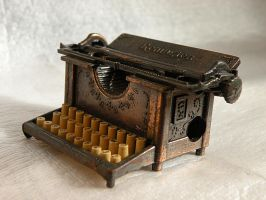 Typewriter 2 by ArtbyValerie
