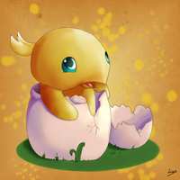 Baby Chocobo by Liiyes