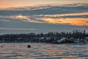 On The Ice (WAB4110) by WayneBenedet
