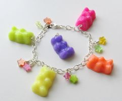 Scented Gummy Bear Charms by MandaBeads