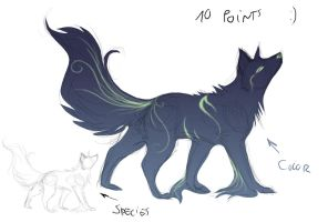 Spirit of the Night Adoptable by cristal-wolf94