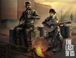 The Last of us, in the power plant. by Louie-Oh