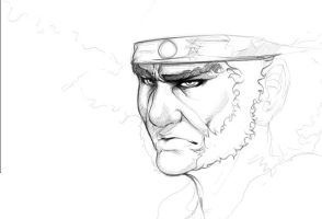 Afro Samurai Sketch Revamped by Animixter