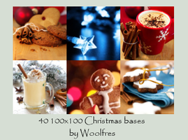 Bases 03 - Christmas by Woolfres